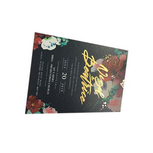 Customized DIY Thank You Invitation card Gift Paper Cards With Envelope