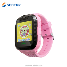 Support 3G SIM SD Card Can Use As Cellphone Kids GPS Track Watch