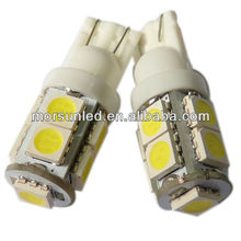 T10 SMD 9PCS LEDs 12V DC led auto tail light MST10WA950S