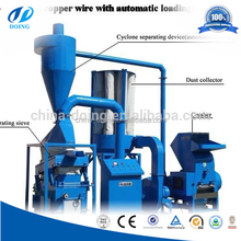 waste telecommunication cable copper recycling machine