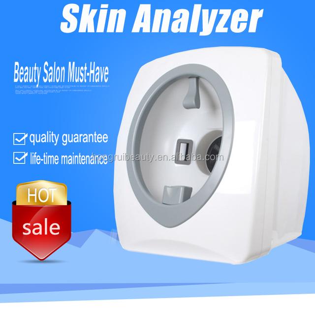 Beauty Salon 3D High pixel Skin Magic Mirror Facial Skin Test Machine Face Scanner Skin Analyzer