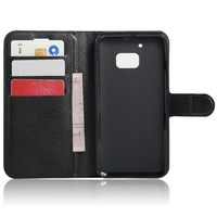 Bottom price hot sale flip wallet case for htc one m10