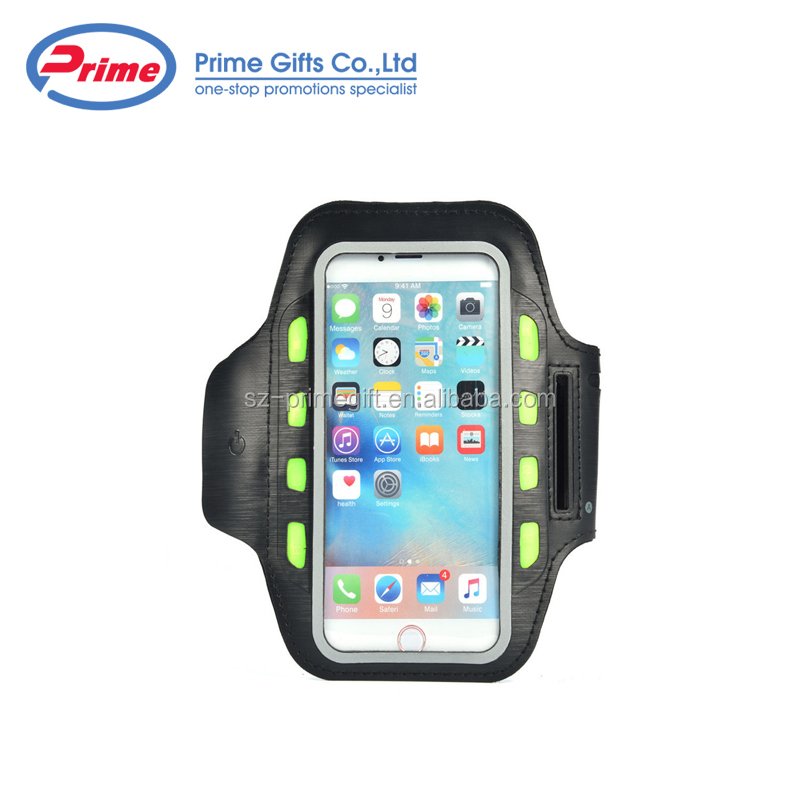 Custom Logo Printed Cheap Price Fashion Sports LED Armband