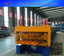 Roll Formers Double Corrugated Steel Sheet Metal Roof Wall Roll Forming Machine