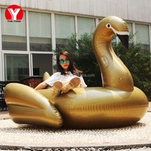 Hot Sale ! Giant inflatable pool swan float / Inflatable giant swimming swan float pool toys