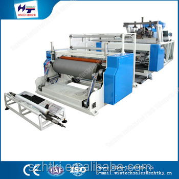 hot sale 1500MM stretch cling film machine / keep clean and safety for food film rewinders
