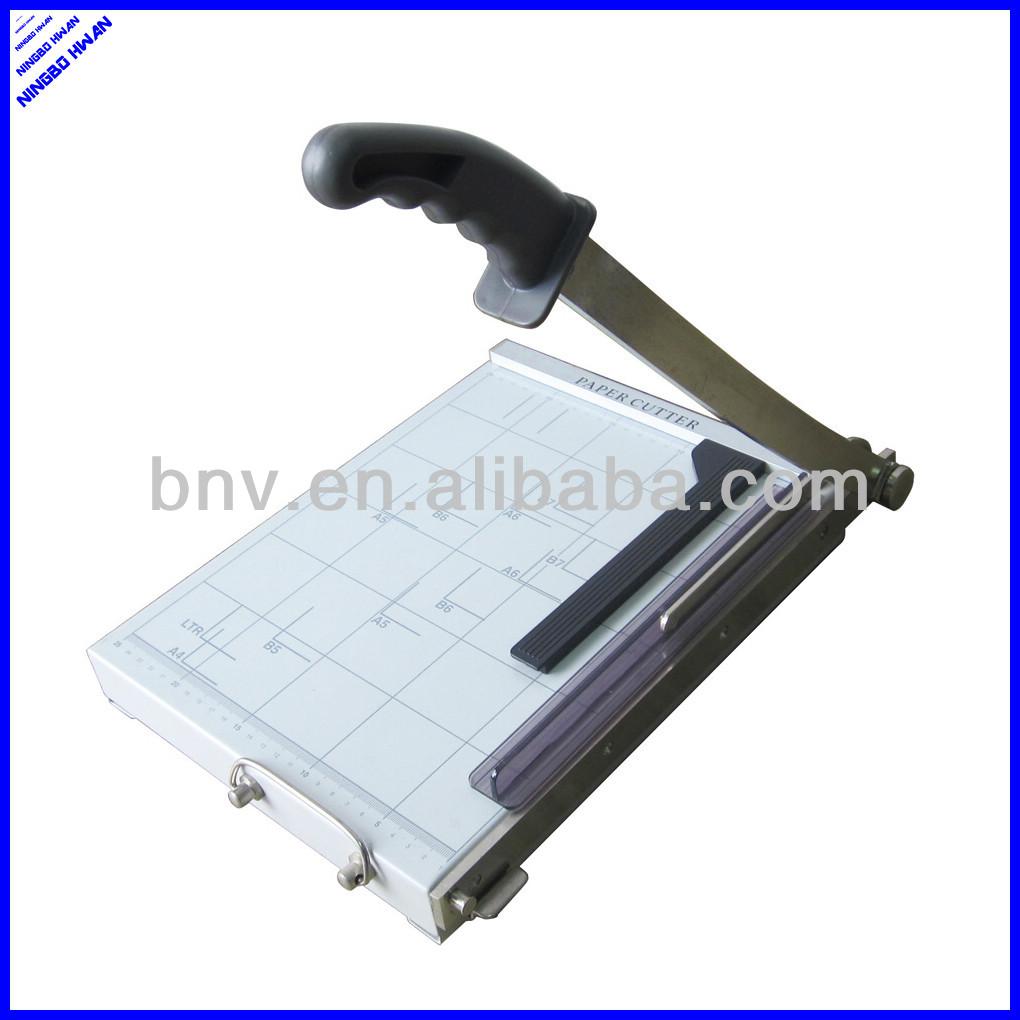Oficina de escritorio manual a4 tama o de papel guillotina for Guillotina oficina