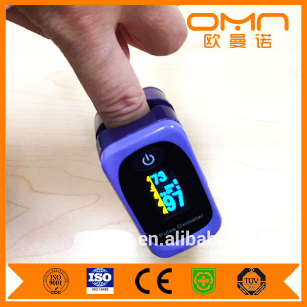 Hot Sales CE FDA LED YELLOW Spo2 pulse oximeter CMS50DL Oximetro de pulso SPO2 monitor AS-304