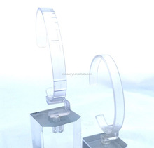 High quality cheap clear acrylic casio watch stand wholesale custom