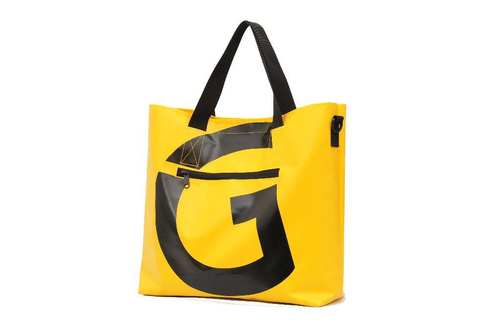 hot sale fashion tarpaulin fabric tarpaulin tote bag handbag for women