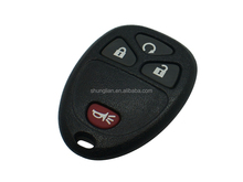 GM remote key fobs cover 3+1 buttons car remote keyless case