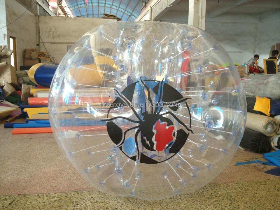 Hola inflatable bumper ball/bubble football/human bubble ball for sale