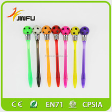 Colorful football LOGO custom promotional pen for fans