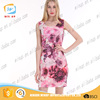 2016 new summer collection lady fashion dress women floral dress
