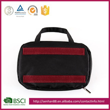 Cheap Wholesale Polyester Cosmetic Bags Professional Makeup Bag Women, Custom Eco-friendly Hanging Toiletry
