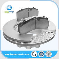 High Quality 42471034 7182300 IVECOS Truck brake disc rotor with cheap price