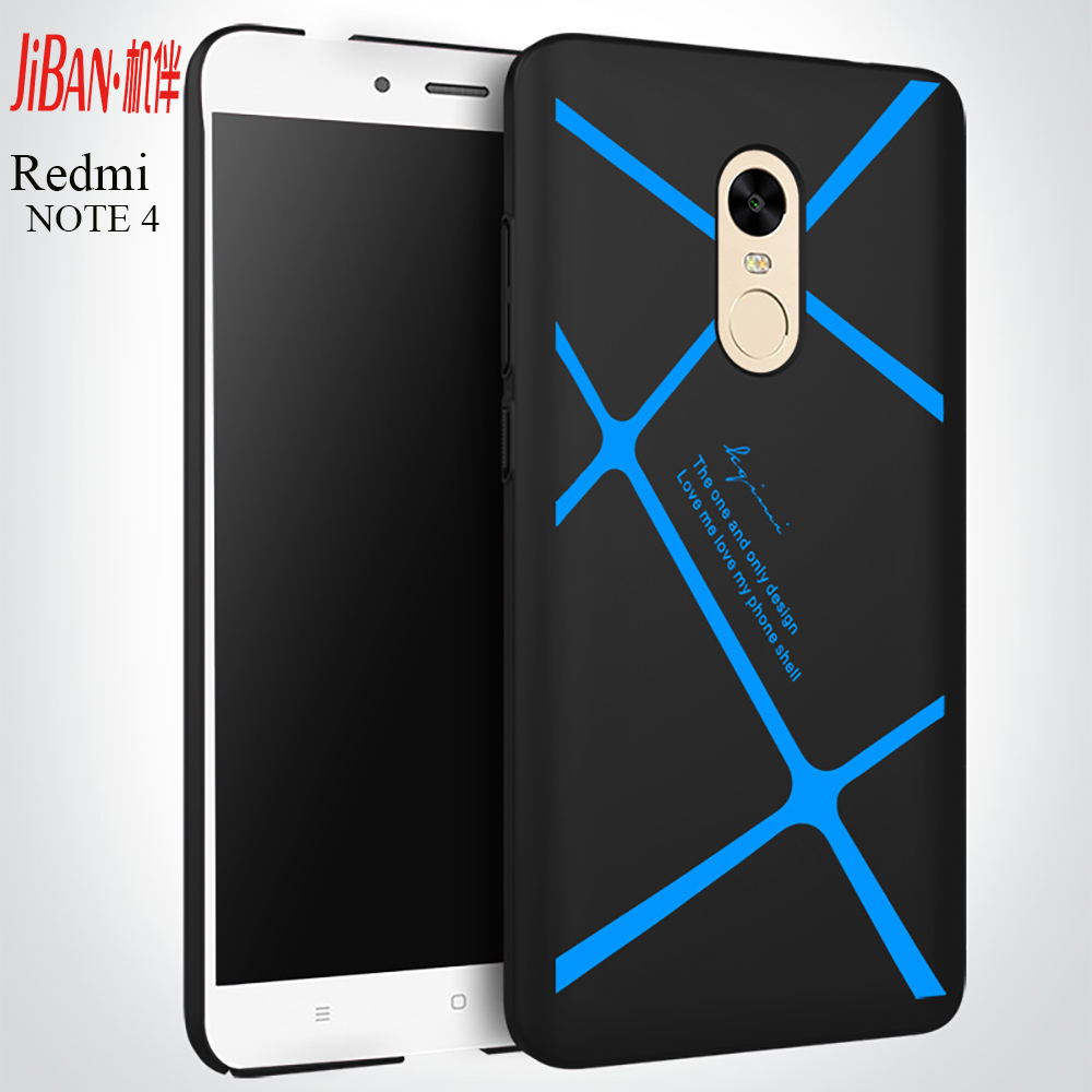 Free sample striped high quality hard pc platsic custom anti-fingerprints back cover phone case for Xiaomi Redmi note4