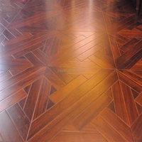 Best Price Black Walnut Parquet Smooth Engineered Wood Flooring