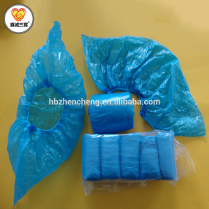 Disposable PE shoe cover plastic rain shoe cover waterproof