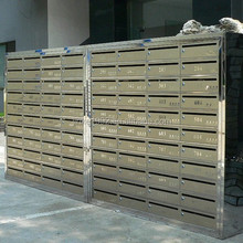 Post box mailbox/mailbox combination lock/stainless steel letter box