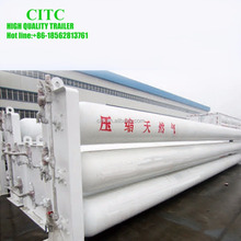 lpg lng cng tanks semi trailer, natural gas storage tanks for truck trailer