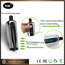 2015 new vaporizer dry herb vapor Captain 1 vapor zone