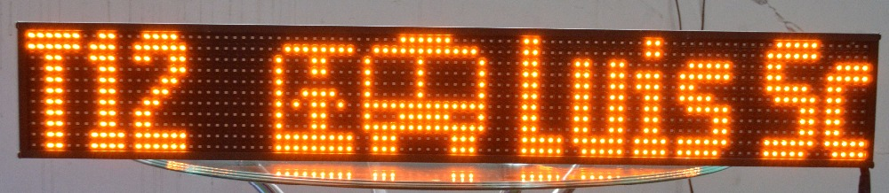 Outdoor Bus LED Electronic Message Display busled sign board