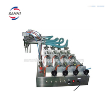 four head semi-auto pneumatic hand washing liquid filling machine