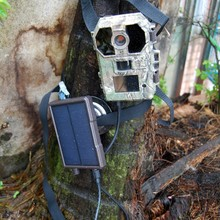 wildlife outdoor solar panel for scouting trail camera