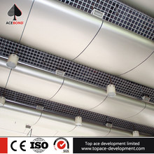 aluminum open cell grid ceiling metal ceiling with accessories