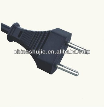 NEW zhejiang 2 pin H05VV-F 22V Switzerland plug european plug