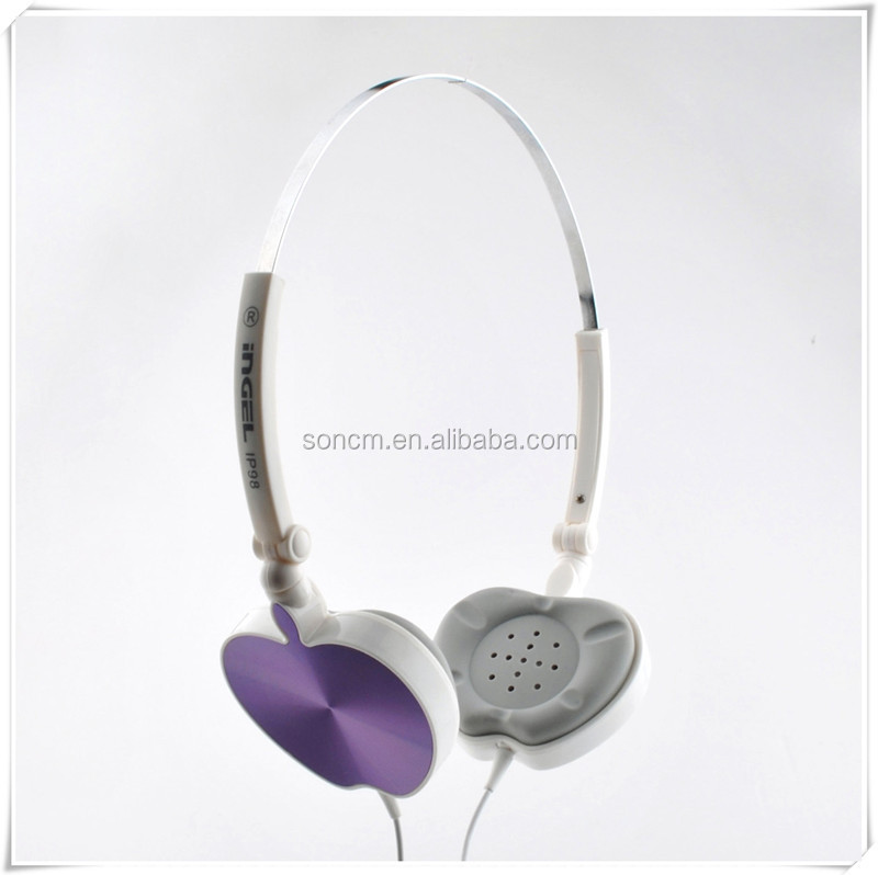 OEM colorful headphones for girls IP98