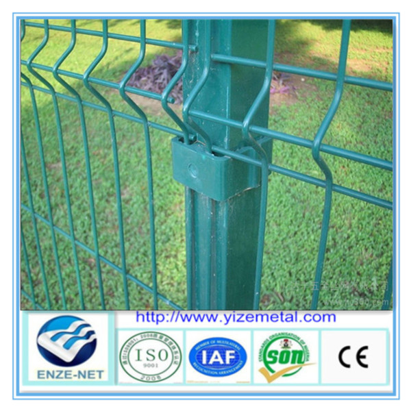 2014 Anping yize color steel fence panel