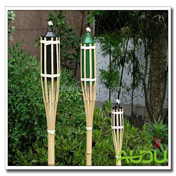Audu Cheap Bamboo Torch/bamboo torch citronella candle