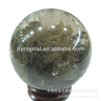 Feng shui quartz ball for Christmas 45mm Ghost Crystal Ball Decoration/Crafts Gifts Cornucopia Crystal Ball Centerpiece