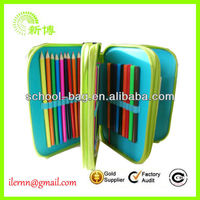 big capacity hot Sale 3 layers pencil case