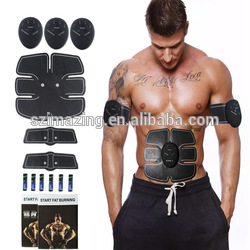 Vibrating body care weight loss wireless massage slimming body belt