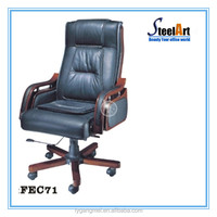 Pu leather office chair chair parts swivel chair wheel base