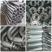 high quality aluminized motorcycle exhaust muffler
