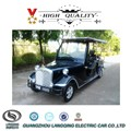 Classis appearance Chinese 6 person CE approved Electric Vintage Golf Car