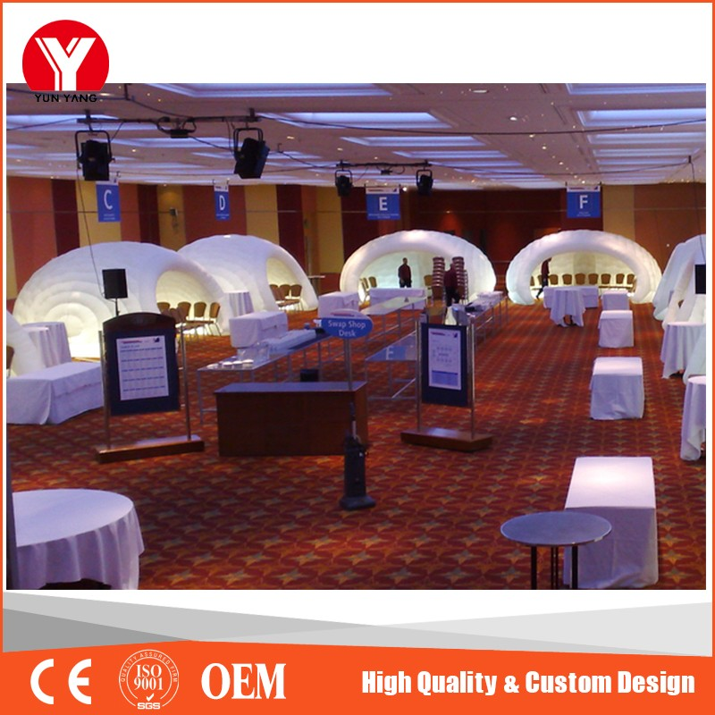 Small Inflatable Projection Tent, Inflatable Dome Bubble Tent for Meeting