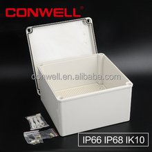 IP65 plastic small electrical weatherproof junction box