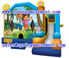 Theme printing with panel art inflatable combo SP-C7006