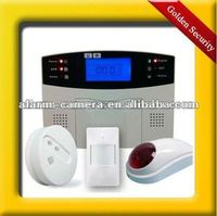 Economic 32 wireless zones Lower cost quite usefull Home GSM intelligent security alarm system