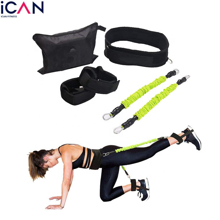 Fitness Physical Therapy Strength Training the Booty Belt <strong>Resistance</strong> Band