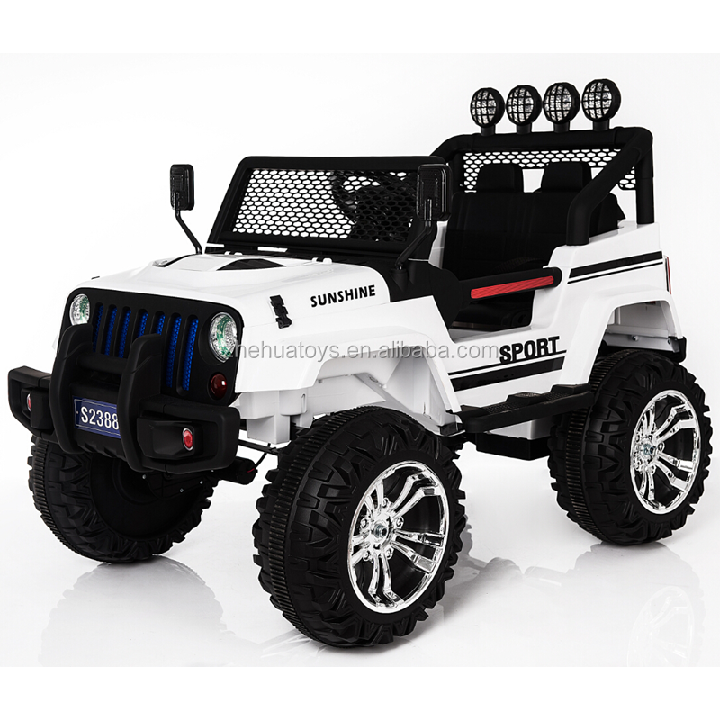2016 Newest ride on car jeep off-road toy vehicles for big kids to drive