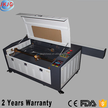 JK6040 CO2 Laser Cutting Machine for Balsa Wood Fabric Glass