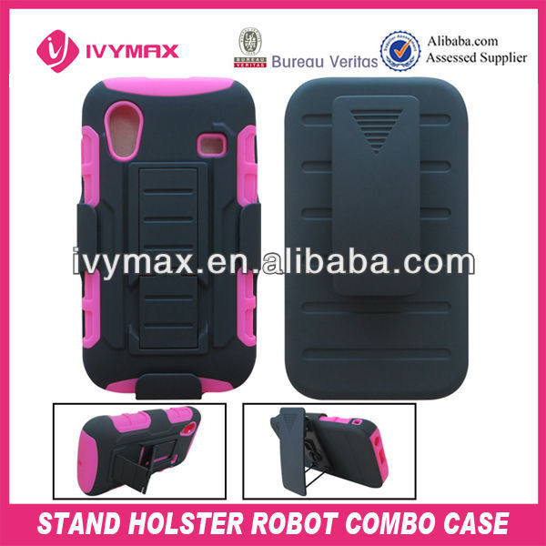 high quality holster combo case for samsung galaxy ace form guangzhou factory