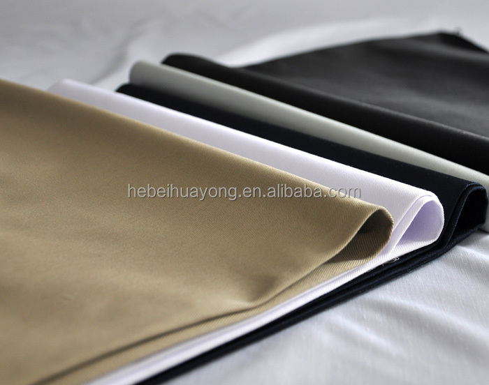 China supplier dyed 100% cotton twill fabric for men's pants/trousers