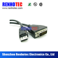 Renhotec DP male to HDMI male converter cable Displayport to HDMI adapter cable